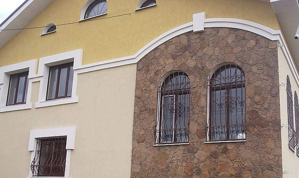 Отделочный камень для наружных стен дома своими руками 75